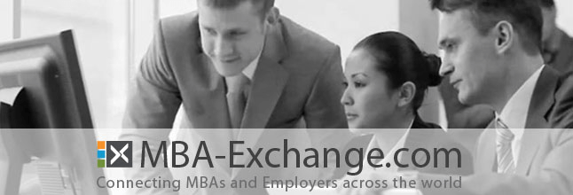 SBS Swiss Business School collaborates with MBA-Exchange.com to facilitate job search for our students. MBA-Exchange.com connects MBAs and employers across the world.