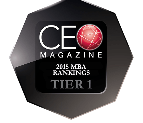 CEO Magazine European MBA Rankings 2015: Tier One