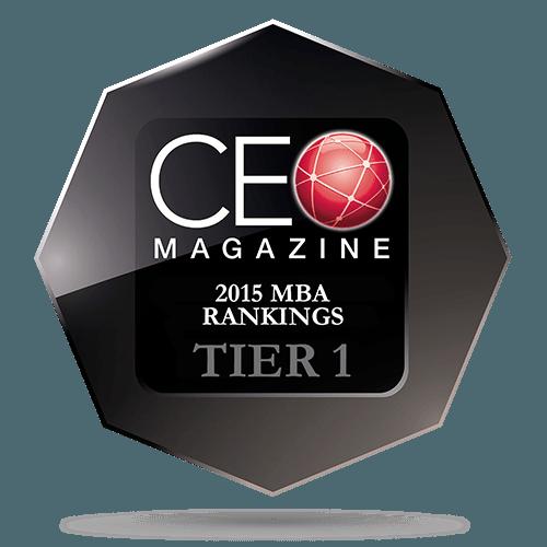 CEO Magazine European MBA Rankings 2015: Tier One