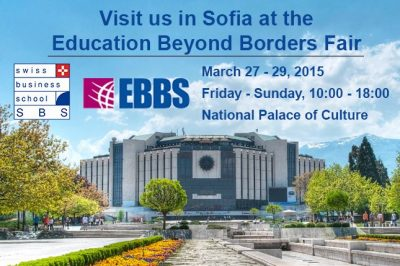 Visit SBS at the QS World MBA Tour 2015 in Geneva on March 26th, 2015, 18:30 - 21:30