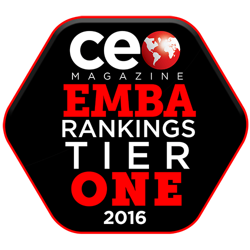 CEO Magazine Global EMBA Ranking 2016: Tier One