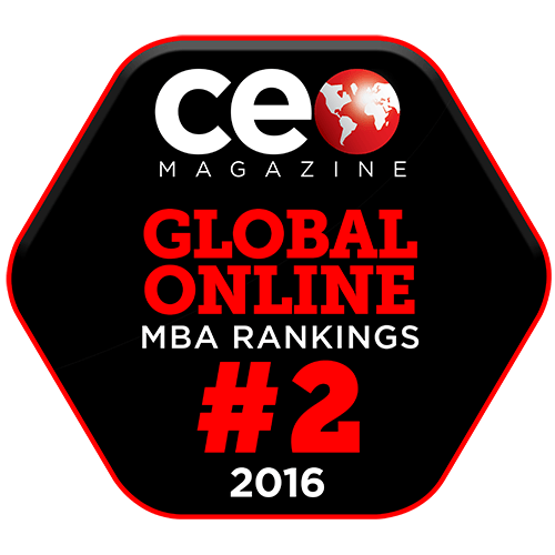 CEO Magazine Global Online MBA Ranking 2016: Rank 2