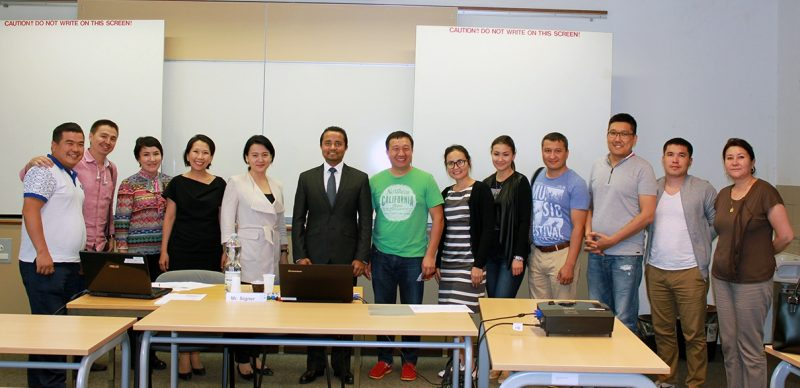 Astana MBA Group 2016 @ SBS Swiss Business School