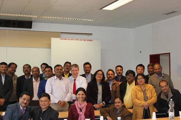 A visit from Indian Institute of Management Indore at SBS Swiss Business School